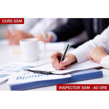 CURS INSPECTOR SSM 40 ore